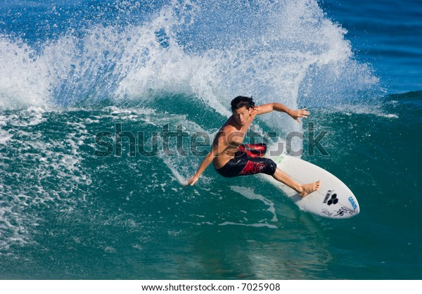 Professional Surfer (for editorial use only)