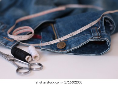 Professional tailoring and alterations concept