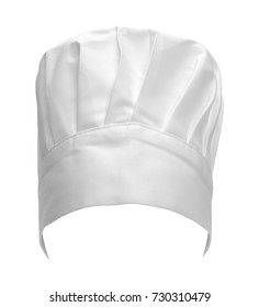 Professional Tall Chef Hat Isolated on a White Background.