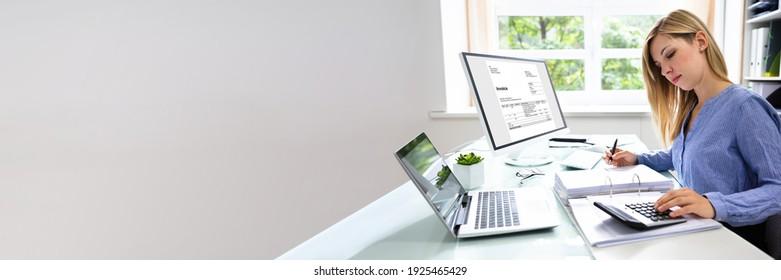 Professional Tax Accountant Using E Invoice Finance Software