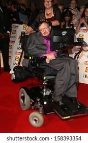 Professor Stephen Hawking at The Pride of Britain Awards 2013 - Arrivals London. 07/10/2013