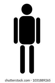 profile symbol icon male