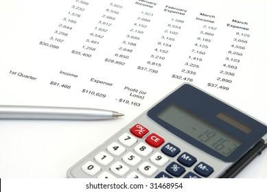 Profit or Loss Sheet