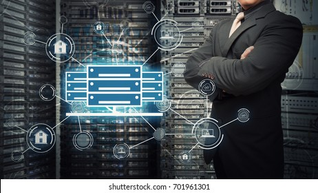 Programmer in data center for network security solution service