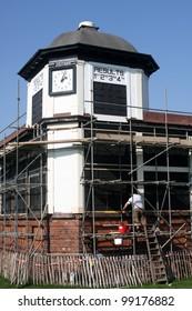 In progress repair on pontefract racesource race directors office