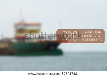 Project Management Conceptual Word Shipbuilding Activity Stock Photo