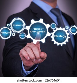 Project Management and Gear Concept on Touch Screen