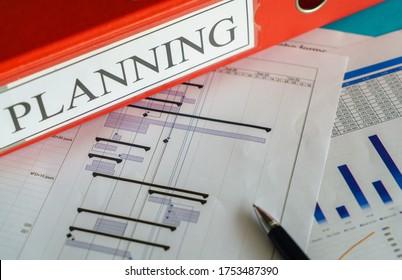 Projektmanager - Plan für Bauaufträge