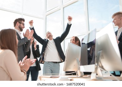 project Manager and the working group applaud their success.