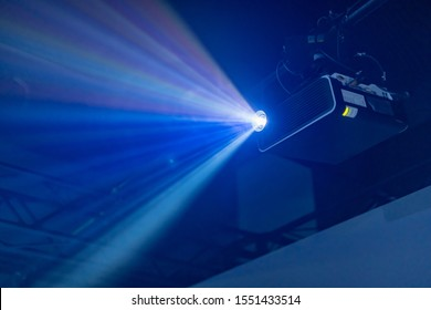 Projector equipment projecting digital images