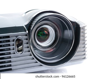 a projector, isolated on white
