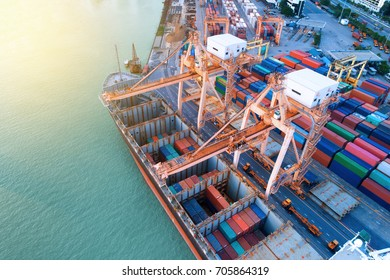 The projects underway at major ports in Thailand is expected to boost the Thailand shipping industry, Over the years, cargo handled at major ports in Thailand have grown considerably., Container ship.