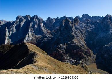 Prokletije, Albania, October 2019: Hiking On Prokletije