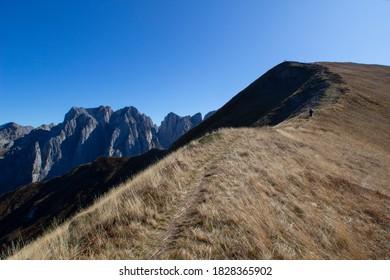 Prokletije, Alpet. Mountain in North Albania and Montenegro