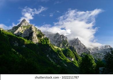 Prokletije mountains, Serbia.