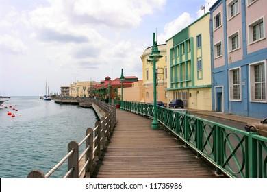 Promenade in Bridgetown, Barbados
