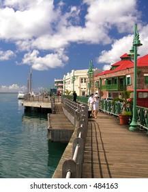 Promenade in Bridgetown / Barbados