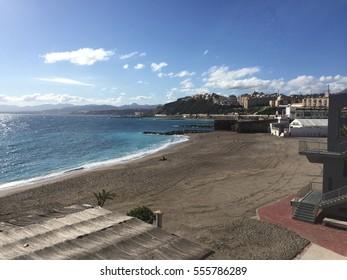 Promenade of Ceuta (Spain)