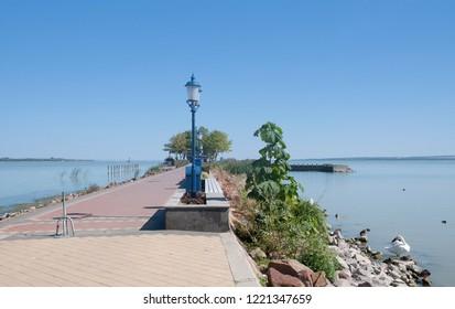 Promenade of Keszthely at Lake Balaton,Hungary