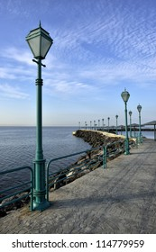 Promenade of the Sea coast - Turkey