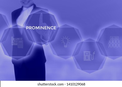 PROMINENCE - technology and business concept