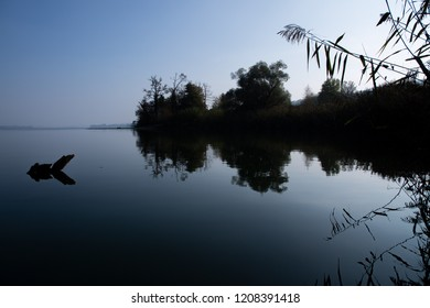 promontory in lake