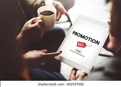 Promotion Discount Price Tag Campaign Concept
