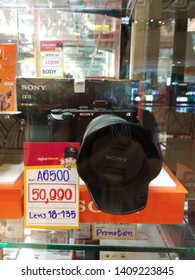 Promotion of Sony camera shop in Central Department Store Udon Thani Province, Thailand, 21 May 2019
