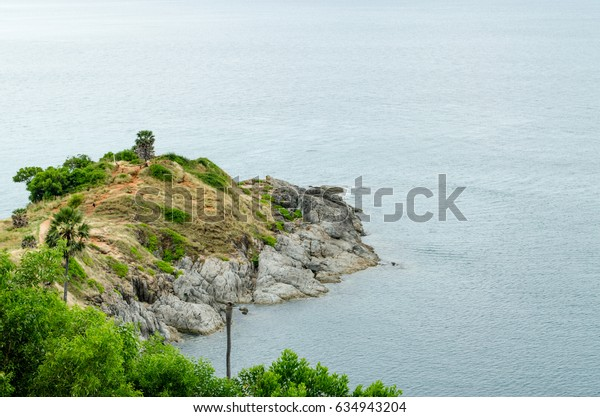 Promthep Cape View Point, Seaview at Phuket Island, Thailand.