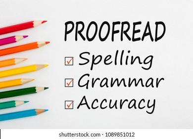 Proofread essay service