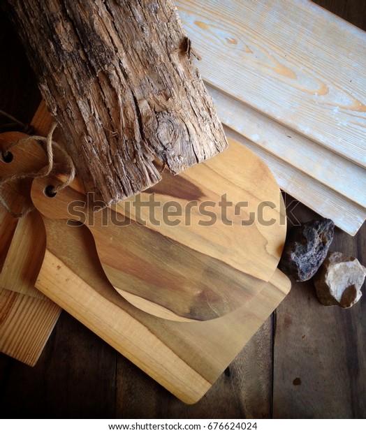 Prop Wood Nature Stock Photo (Edit Now) 676624024