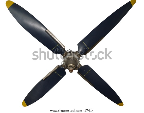 Propeller on a white background