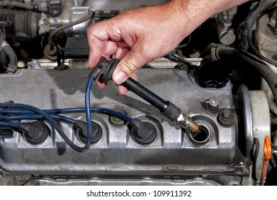 The proper installation of a spark-plug in a car