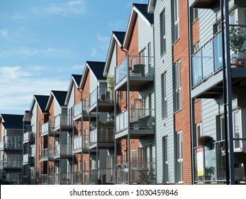 Property development of brand new waterside apartments