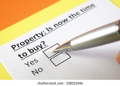 Property: Is now the time to buy? Yes