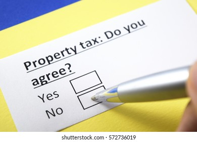 Property tax: Do you agree?