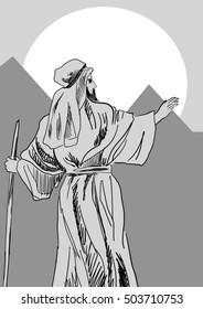 Prophet in a desert