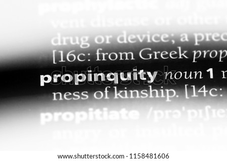 law of propinquity