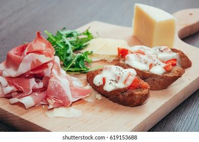 Prosciutto Cheese Appetizer