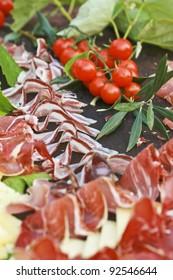 Prosciutto and cherry tomato