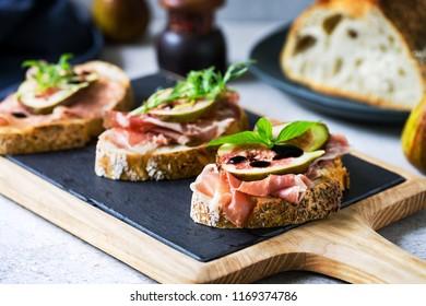 Prosciutto ,Coppa,Pepperoni and Fig on Sourdough bread