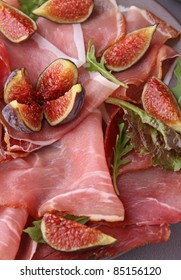 prosciutto ham and figs