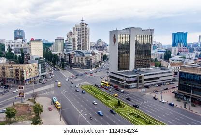 Prospect of Victory Kiev, Ukraine, June 2018
