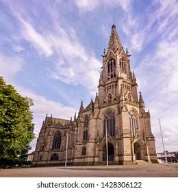 Prostestant church in Speyer, Germany, Gedächtniskirche