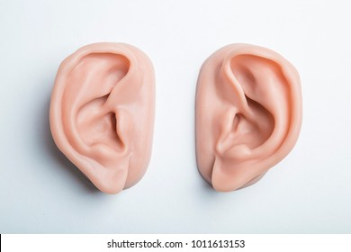 prosthesis human ear of silicone