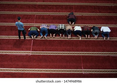 Prostration is one of the prayer movements