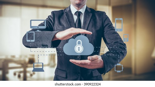 Schutz des Cloud-Informationskonzepts. Sicherheit und Sicherheit von Cloud-Daten.