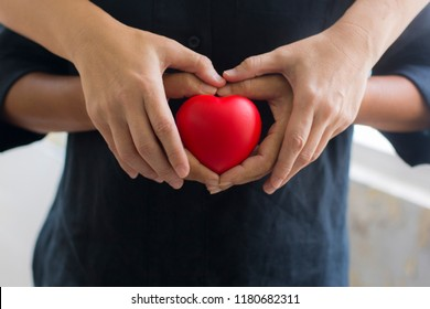 Protect heart take care of your health Concern for each other.