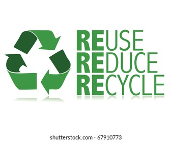 Protect the World from pollution. vector illustration