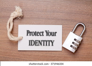 Protect your identity conceptual
